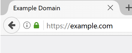 Site secured with SSL